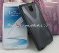 """X line TPU Gel Case Cover for Samsung Galaxy Note 3 N9000"