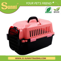 Customized pet transport box plastic acrylic pet cage