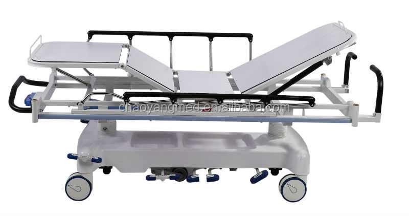 CY-F622 Luxurious Hospital Hydraulic Emergency Stretcher