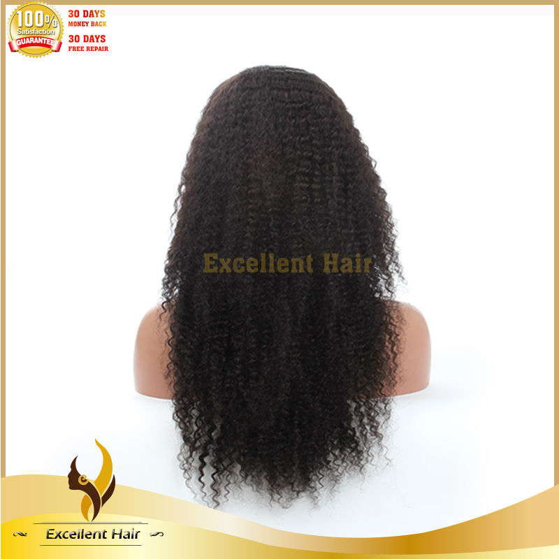 2015 New Fashion Full Lace Kinky Curly Wig Box Braid Lace Wig