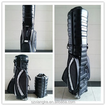Hard Case Golf Club Bag with wheel