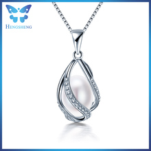 New design aaaa 8-9mm natural freshwater pearl pendant