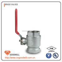 high quatity galvanized ball valve