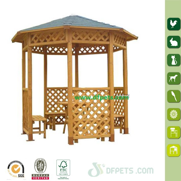 Cheap Wooden Used Garden Gazebo For Sale DFG3001