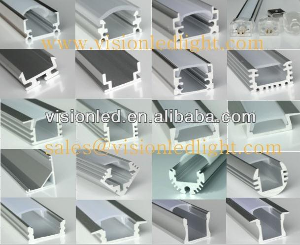 high quality aluminum stair profile with led strip light