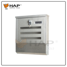 Best Quality Waterproof 304 Stainless Steel Mailbox strong safe postbox