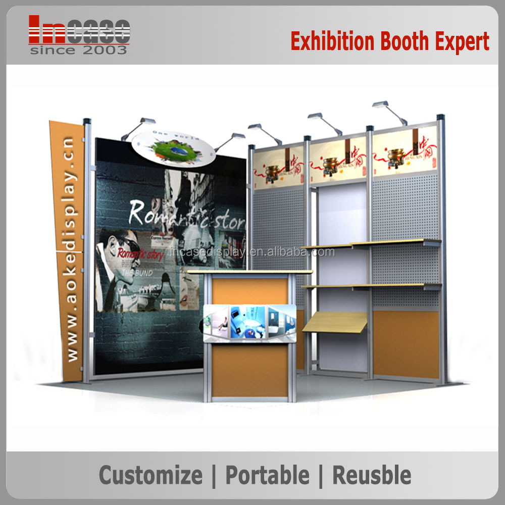 Exhibition Booth Price : M acrylic exhibition booth display stand d models