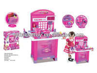 Kid's Kitchen Set with Sound and Light