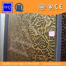 Embossed Design Interior Decorative MDF 3D Wall Texture Embossed Panels For Hotel Decoration