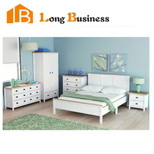 Zhejiang China Solid Wood Modern Bedroom Furniture / Bedroom Sets