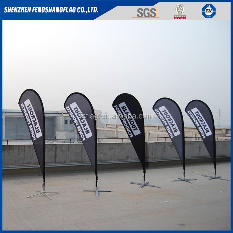 Promotional outdoor banner Feather banner Teardrop Flags