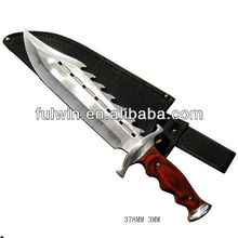 New design tactial hunting knife with pouch