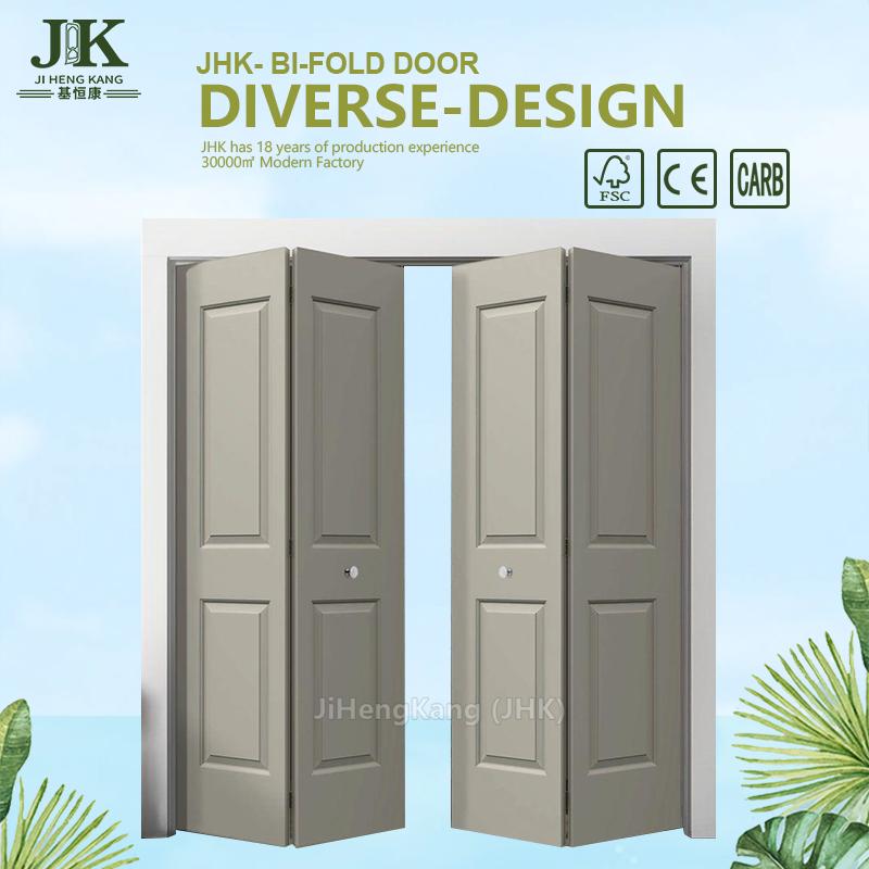 Jhk Folding Door Wood Bifold Doors Internal Custom Closet Doors