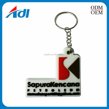 Custom fashion decorative handmade pvc key chains for sale