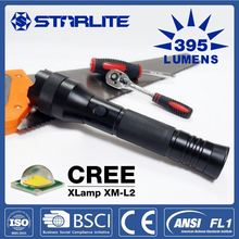 Flexible high power aluminum cree xml t6 super bright led flashlight