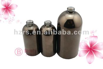 electroplated perfume glass bottle