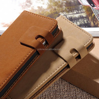 Universal smart phone 5.5 flip wallet leather case mobile phone case card holder wallet for Samsung Galaxy