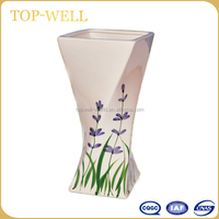 Fancy Lavender ceramic vase for home decorative wholesale