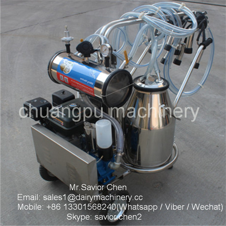 Cow Gasoline Engine Human Milking Machine For Sale