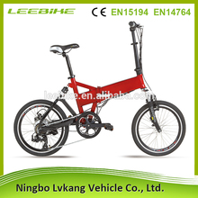 folding bicycle robstep x1 TUV certificate folding e bike