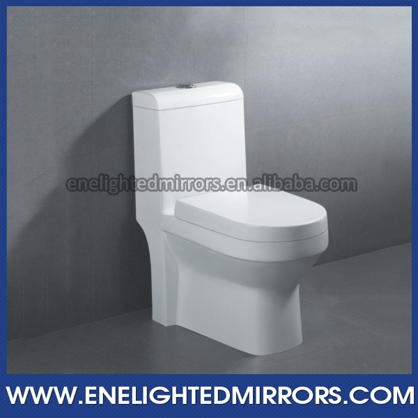 High-end hotel project bathroom sanitary wares siphon flushing toilet 2013 new design