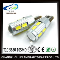 HOT SALE T10 5630 10SMD canbus auto led light t10 5630 canbus no lens Interior Lamp