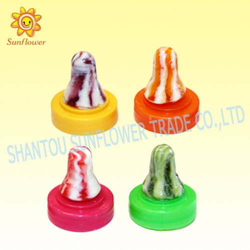 Africa Sunflower Brand Sour Powder Nipple Candy