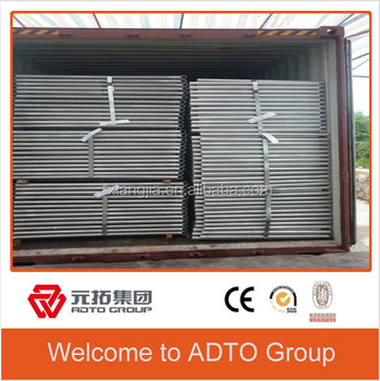 1219*1700mm pre-galvanized scaffolding gate frame made in china for africa