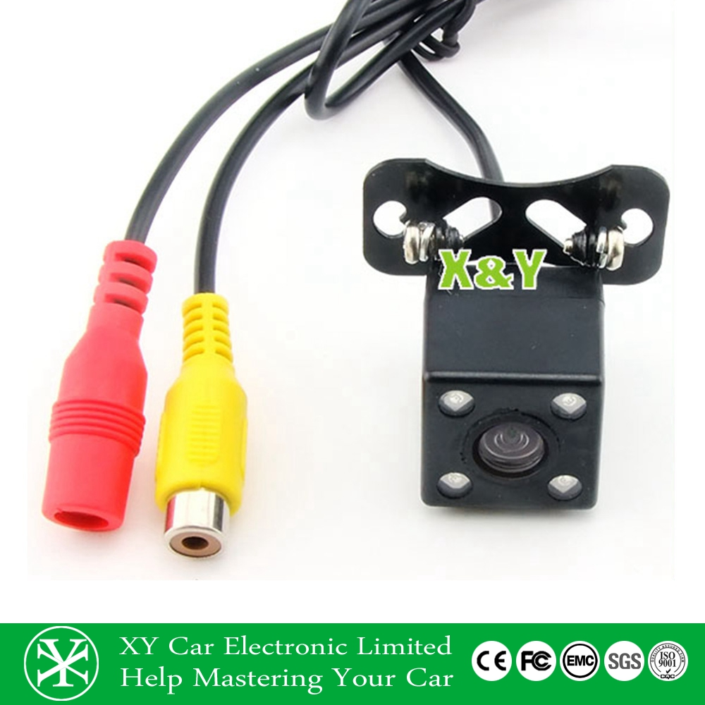 12V small hidden camera for cars,LED Waterproof night vision Car Camera for reversing XY-1668