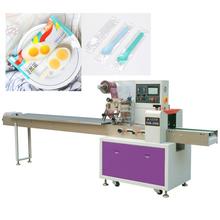 ice cream small spoon horizontal packing <strong>machine</strong> with auto feeder