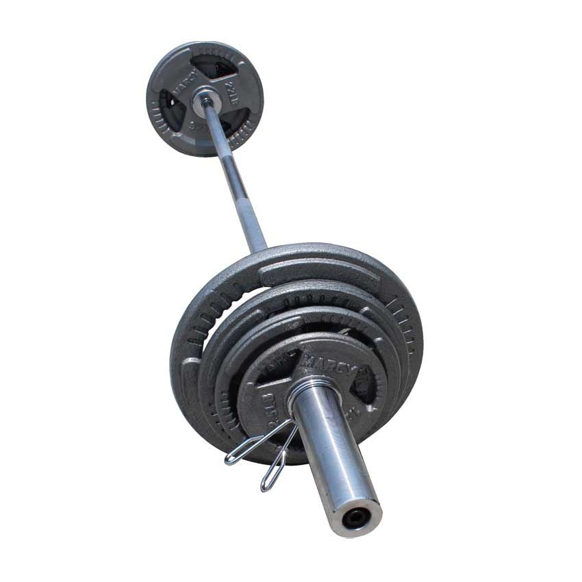 The barbell plates in weight lifting