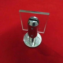 Base plate glass spigot railing mini post for fence spigot