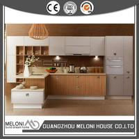 Bottom price luxury melamine carcass kitchen cabinet