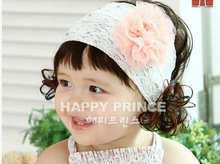 Baby Hair Band Infant Head wrap Feather Flower Headband