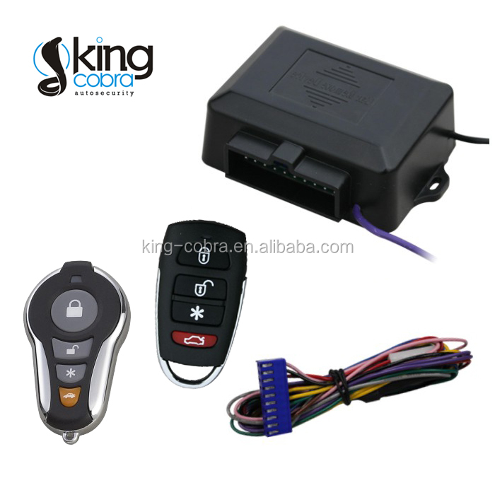 car keyless entry system with trunk release, central door lock and unlock,up to 120M