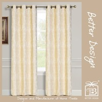 1PC JACQUARD BLACKOUT MODERN ITALIAN CURTAINS WITH CURTAIN FABRICS IN ITALY FOR LIVING ROOM