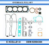 Auto spare parts engine gasket kits for 92064384