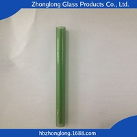China Wholesale Low Price Mouth Blown Heat-Resistant Glass Tube