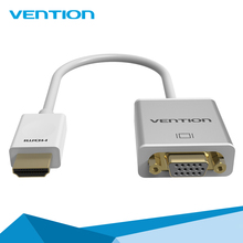 Vention Metal HDMI to VGA Adapter Converter with Audio & Micro USB port power for Laptop HDTV Projector
