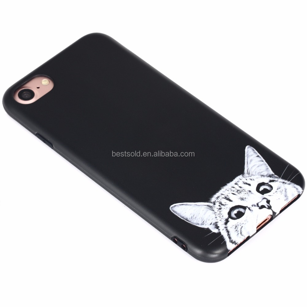Phone Accessories Mobile For Iphone 7 Case Ultra Thin - Cute Cat