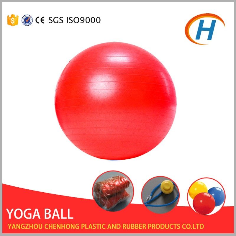 2016 physical balance 100cm gym ball with handle , stability ball