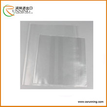 normal clear/super clear/translucent PVC book cover