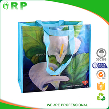 Recycle economical shopping handled nonwoven lamination bag