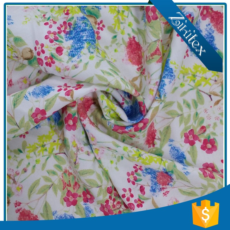 poplin printing cotton fabric