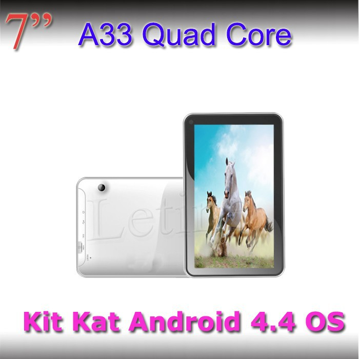 Trade Assurance $155000 Cheap 7inch android 4.4 tablet pc competitive promotion price with A33 Quad core cpu tablet 4G