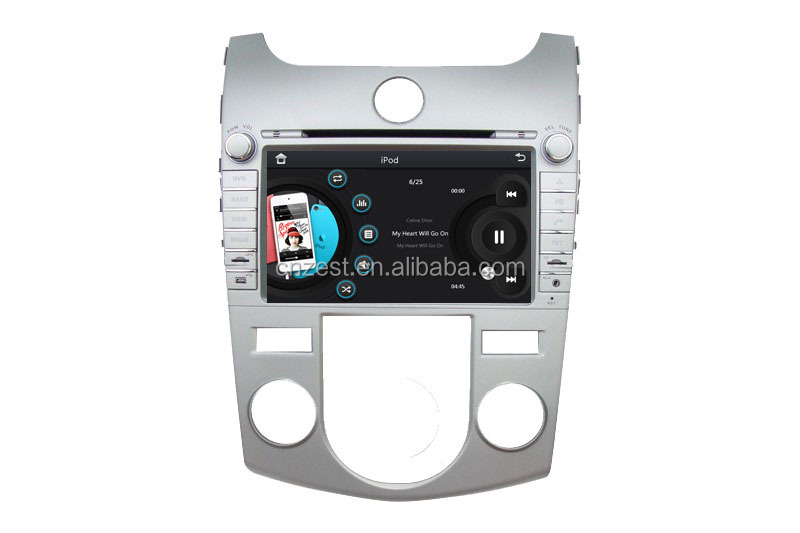car dvd gps studio For KIA SHUMA FORTE CERATO 08-11 car gps with auto radio Bluetooth SD USB Radio wifi 3G