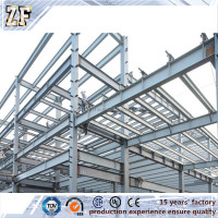 High quality ISO/TS:16949:2009 steel structure building