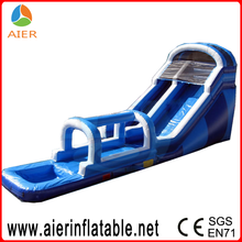 Inflatable run tube water slide, inflatable water slide tube, tube slide