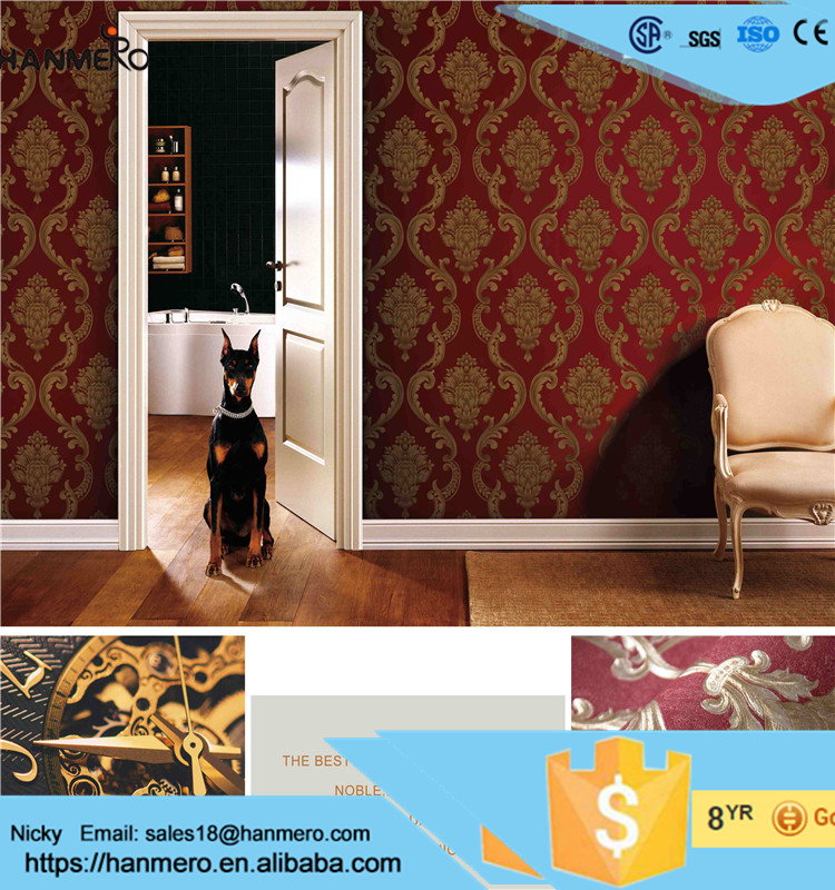 Manufacture hot selling korean wallpaper