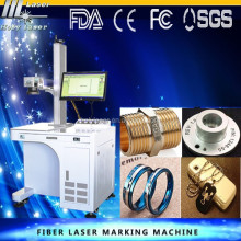 fiber laser marking machines for number plates bar code